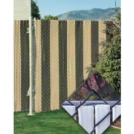 PDS 7' Chain Link Fence FinLink Privacy Slats