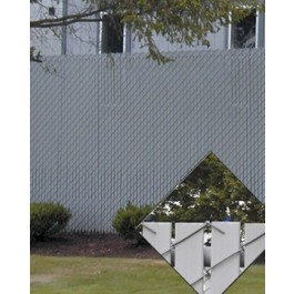 PDS 3' Chain Link Fence Industrial Privacy Slats (Slats Only) (Covers 25 Feet) (106 Slats)