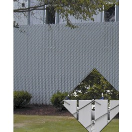 PDS 6' Chain Link Fence Industrial Privacy Slats (Covers 25 Feet)