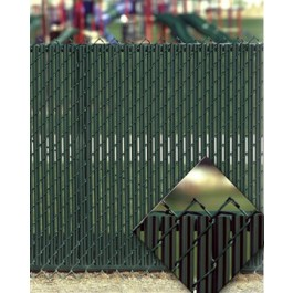 6' Chain Link Fence LiteLink Privacy Slats