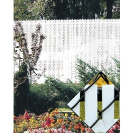 7' Chain Link Fence Top Locking Privacy Slats