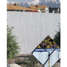 3' Chain Link Fence Winged Slat Privacy Slats