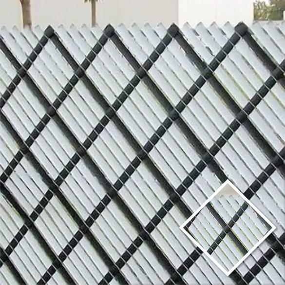 10' Chain Link Fence Aluminum Privacy Slats (Aqua)