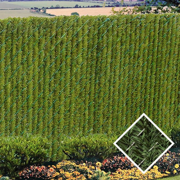PDS 10' Chain Link Fence HedgeLink Privacy Slats