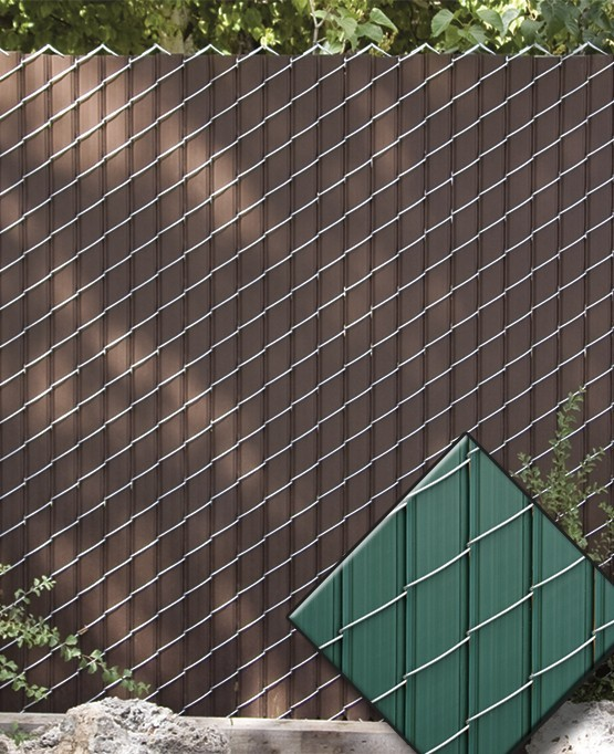 Chain link fence fin privacy slats only