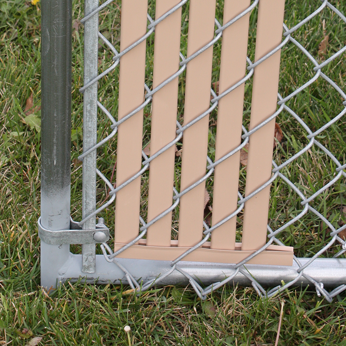 Chain link fence bottom