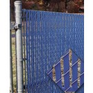 PDS 3' Chain Link Fence Bottom Locking Privacy Slats