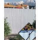 3' Chain Link Fence Winged Slat Privacy Slats