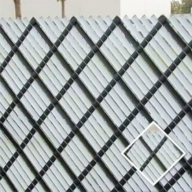 Aluminum Privacy Slat Sample