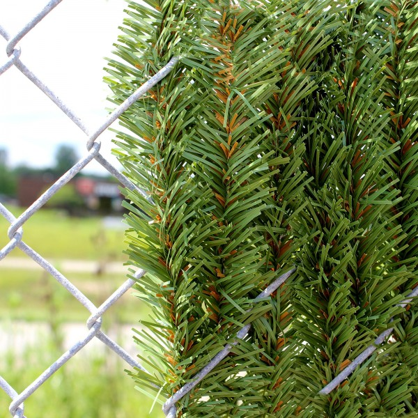 6' Chain Link Fence Dura Hedge Privacy Slats