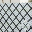 10' Chain Link Fence Aluminum Privacy Slats (White)