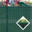 PDS 4' Chain Link Fence LiteLink Privacy Slats (Redwood)