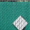 Ultimate Slat 6' High Privacy Slats for Chain Link Fence (Black)