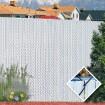 PDS 4' Chain Link Fence Winged Slat Privacy Slats (Light Blue)
