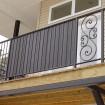 "4' Ornamental Fence Privacy Slats Kit For 1"" Sq. Pickets (20 Slats)"