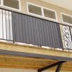 "6' Ornamental Fence Privacy Slats Kit For 5/8"" Sq. Pickets (25 Slats)"