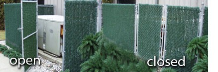 6 Chain Link Fence Dura Hedge Privacy Slats Privacy