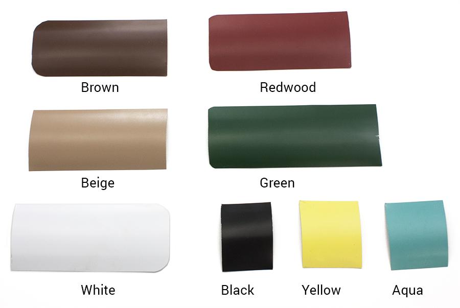 Aluminum Privacy Slat Colors